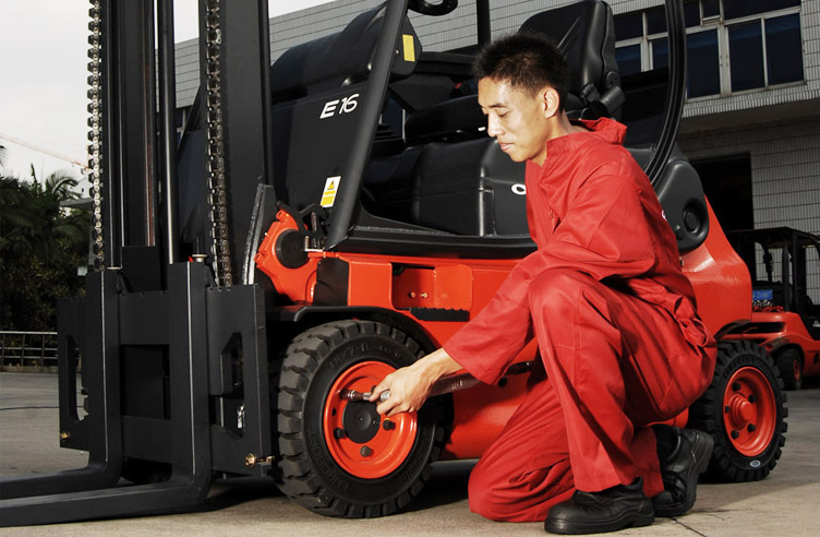 Maintenance & Repair – Linde (China) Forklift Truck Corp , Ltd